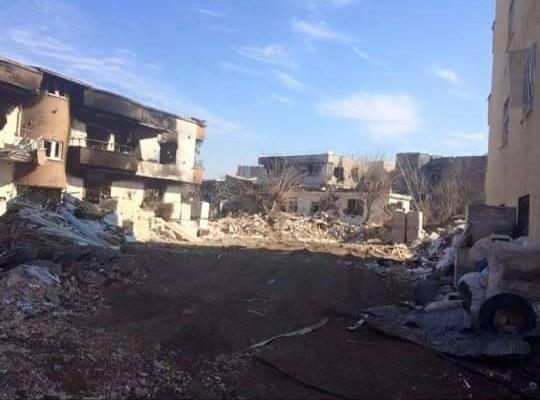 Cudi - ett av de mest drabbade områdena i Cizir